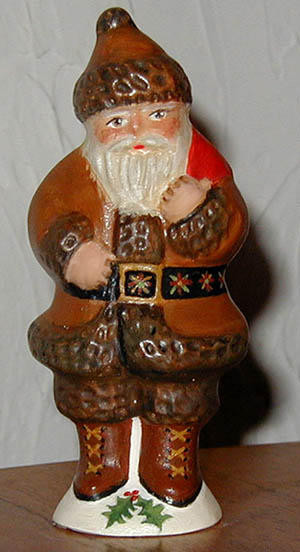 Bittersweet House Belsnickle Santa from an antique chocolate mold