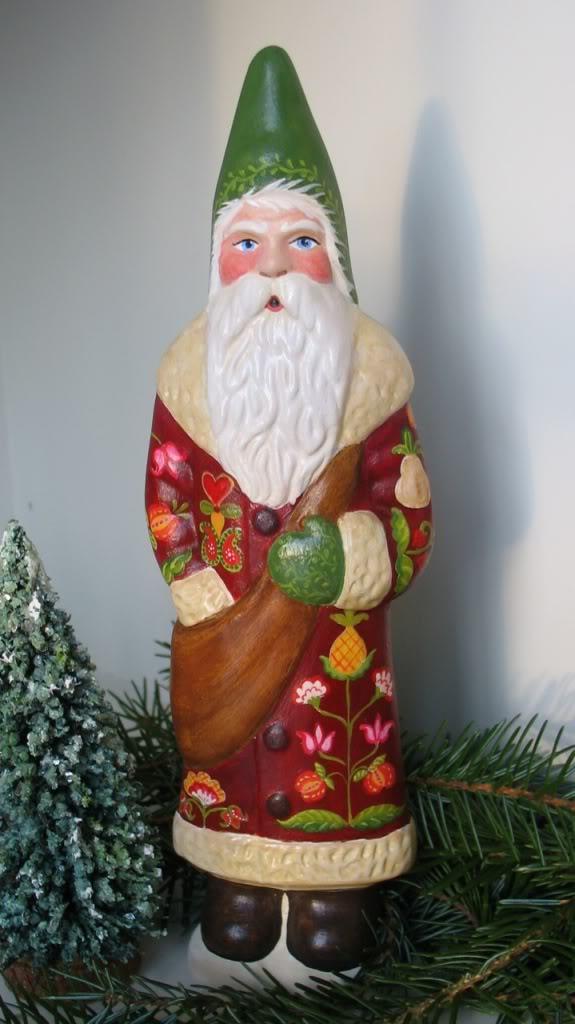 Chalkware Santa